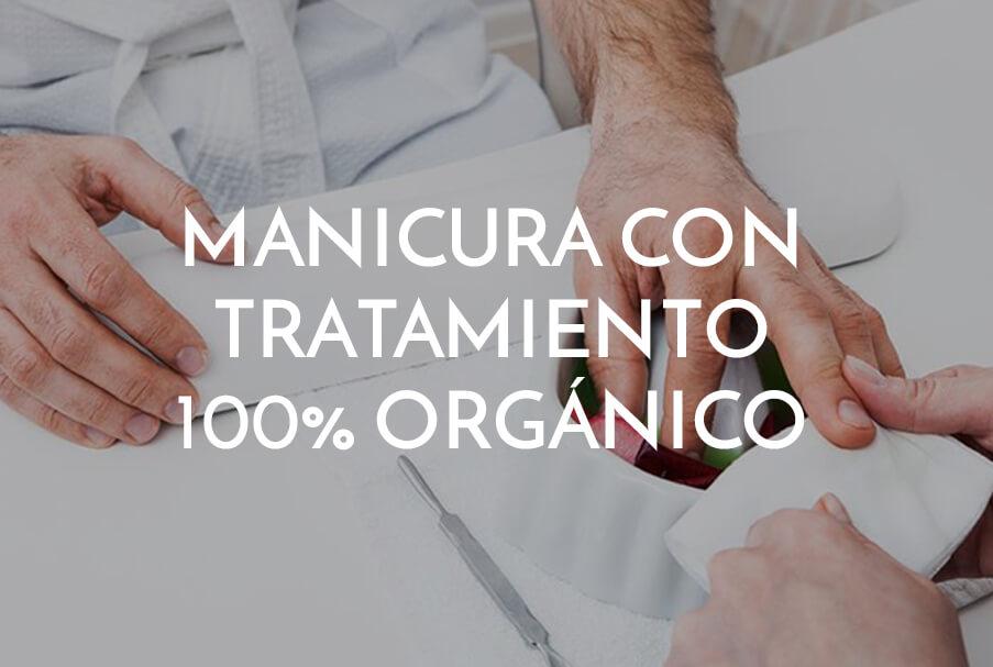 manicura con tratamiento 100% orgánico