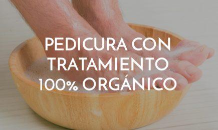 pedicura con tratamiento 100% orgánico