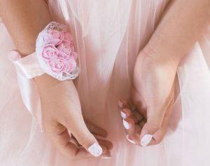 uñas en boda