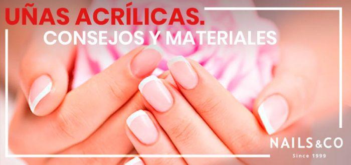 Conoce los materiales de uñas acrílicas que puedes usar