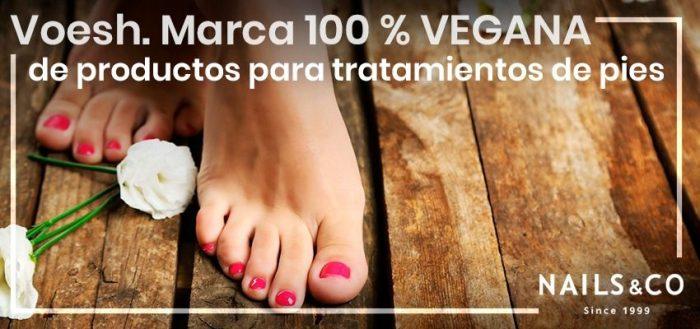 Voesh. Marca 100 % vegana de productos para tratamientos de pies