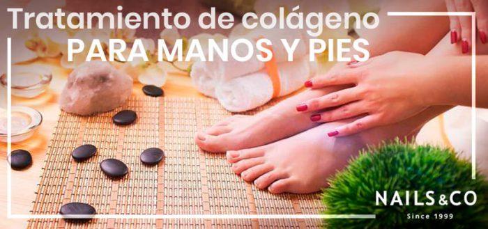 Tratamiento de colágeno para manos y pies