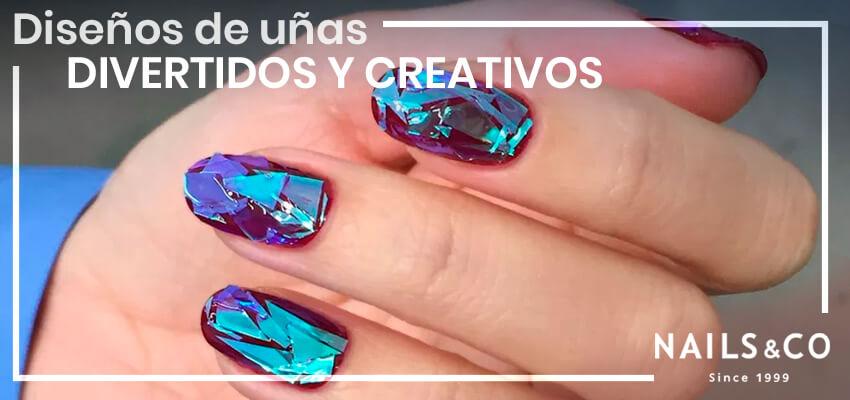 Diseños de uñas divertidos y creativos