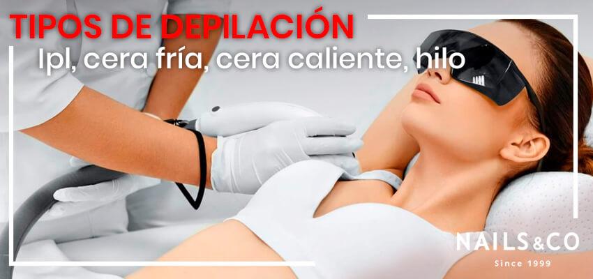 tipos de depilacion