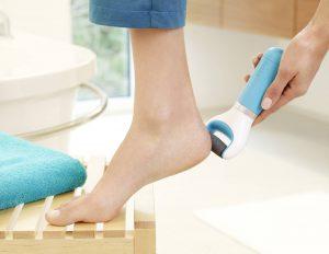 lima electrica cuidados pies
