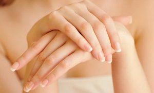 tratamiento de manos