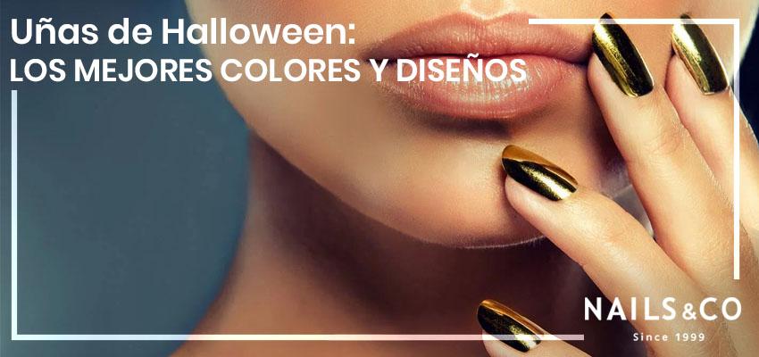 uñas de Halloween, unas de Halloween