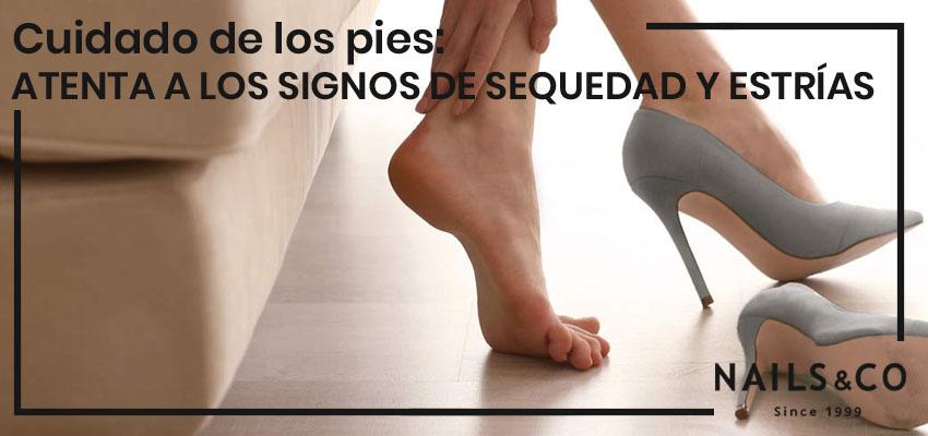 como curar la sequedad de los pies