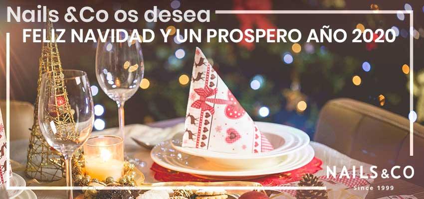 Nails & Co os desea una Feliz Navidad y un próspero año 2020